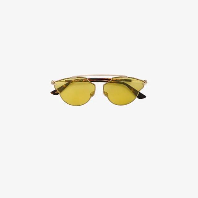 Dior Eyewear so real pop tinted sunglasses, $320