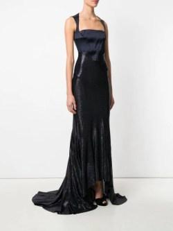 Esteban Cortazar corset gown