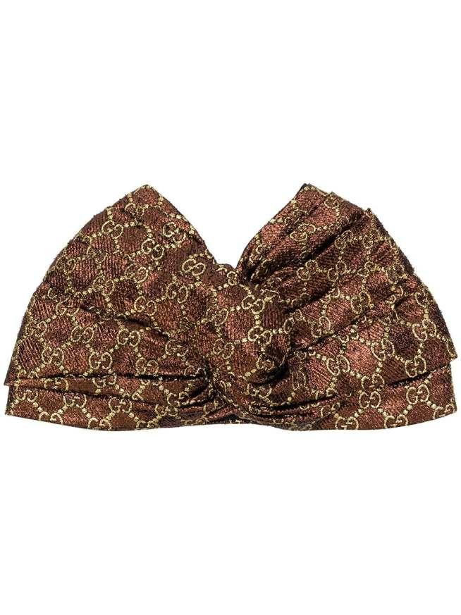 Gucci patterned turban