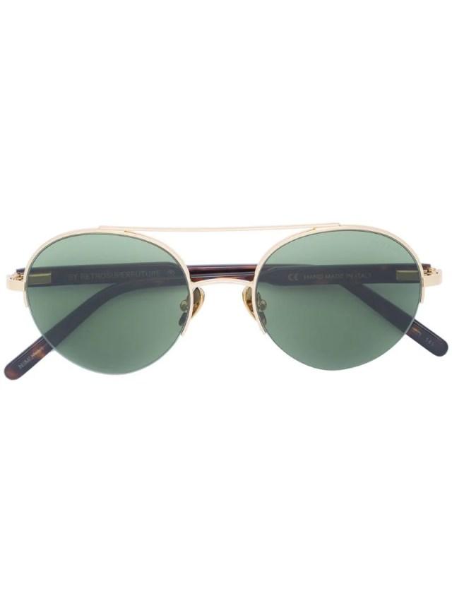 Retrosuperfuture tinted bar sunglasses, $275.0