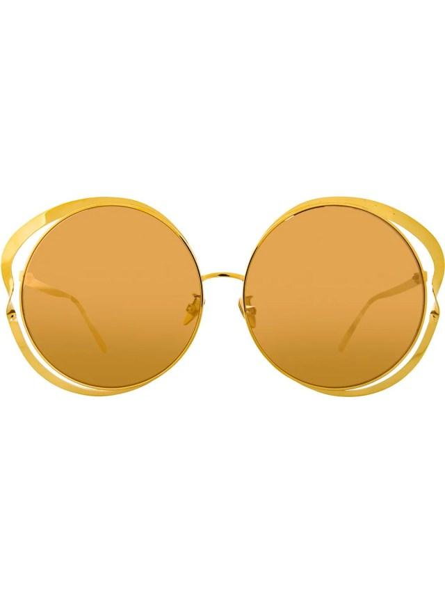 Image 1 of Linda Farrow 660 C1 round sunglasses
