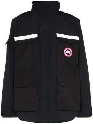 Canada Goose加拿大鵝男士系列_拉鏈連帽外套_派克大衣_襯墊夾克價格-Farfetch中國官網