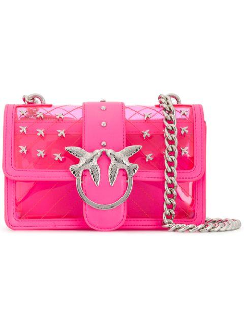 Pinko стеганая сумка на плечо 'Love'
