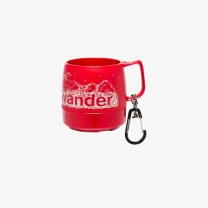And Wander Mens Red Dinex Logo Mug
