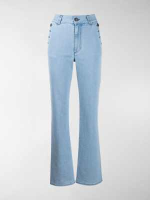 See by Chloé side button flared jeans