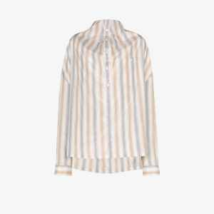 Y/project Womens Neutrals Infinity Double Front Shirt