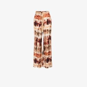 Nanushka Womens Multicolour Giado Tie-dye Wide Leg Trousers