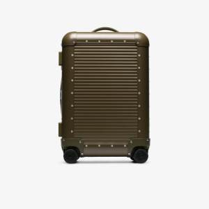 Fpm Milano X Nick Wooster Green Spinner 53 Suitcase