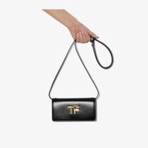 Tom Ford Womens Black Box Palmellato Tf Leather Mini Bag