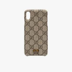 Gucci Womens Brown Ophidia Iphone Xs Case