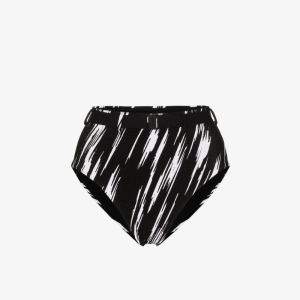 Les Girls Les Boys Womens 108 - Multicoloured: High Waist Belted Bikini Bottoms