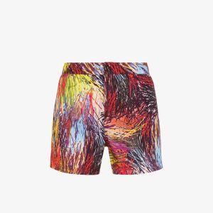 Missoni Mens Black Mare Patterned Swim Shorts