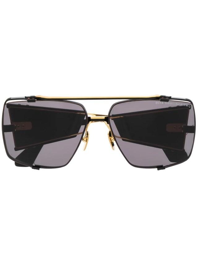 Image 1 of Dita Eyewear Souliner Two oversized sunglasses