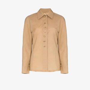 Samuel Guì Yang Buttoned Wool Jacket