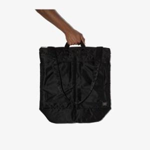 Porter-yoshida & Co Mens Black 2way Helmet Messenger Bag