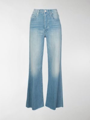 Mother high rise flared jeans