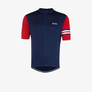 Rapha Mens Blue Rapha Mens Blue Clssc Gb Ss Jersey Blu Red