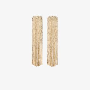 Anissa Kermiche Womens Gold-plated Fil D'or Earrings
