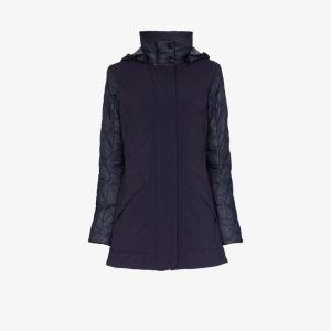 Canada Goose Womens Blue Berkeley Padded Coat