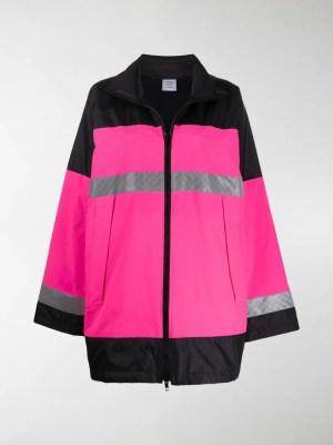 Vetements reflector parka coat