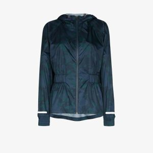 Sweaty Betty Womens Blue Sweaty B Storm Seeker Batwing Jkt