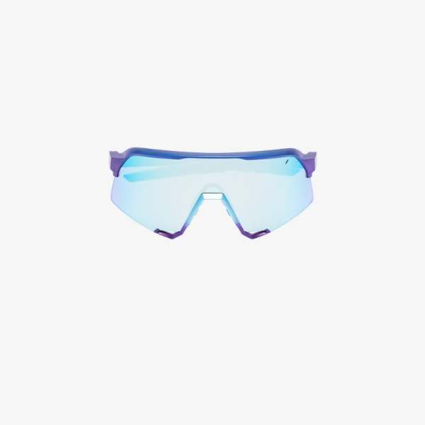 100% Eyewear Blue S3 cycling performance sunglasses