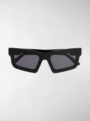 Huma Sunglasses Tilde rectangular frame sunglasses