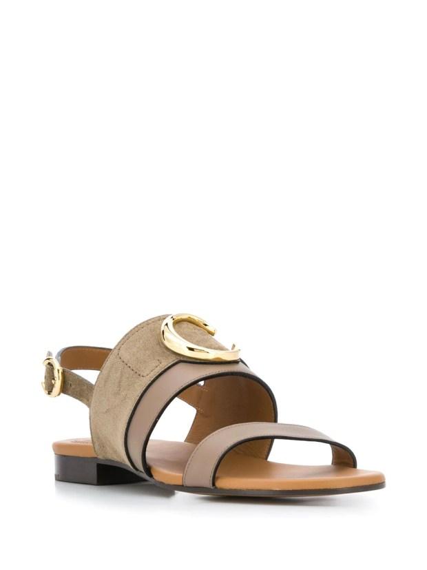 Image 2 of Chloé C plaque sandals