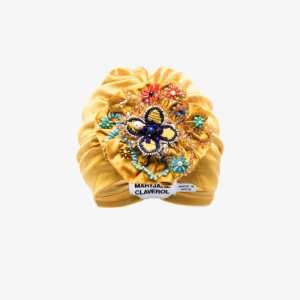 Maryjane Claverol Womens Yellow Maryj Canaria Gld Bead Trbn