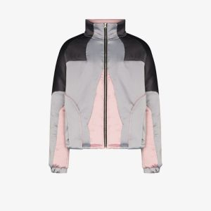 Av Vattev Mens Multicolour O'keeffe Colour Block Jacket