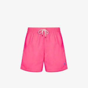 Polo Ralph Lauren Mens Pink Traveller Swim Shorts