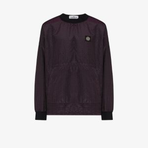 Stone Island iridescent shell sweatshirt