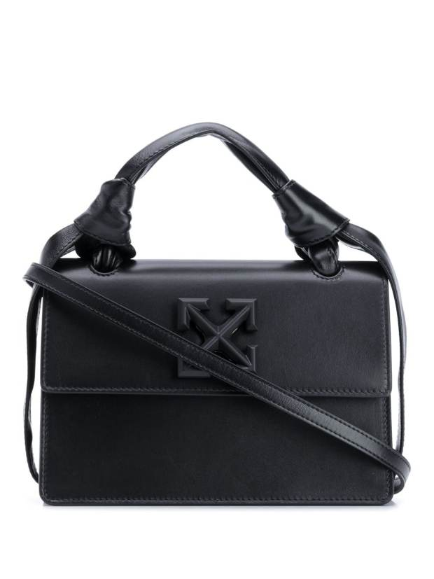Image 1 of Off-White Jitney 1.4 leather crossbody bag