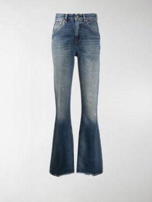 Golden Goose Karen distressed-effect bootcut jeans