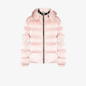 1017 Alyx 9sm Mens Pink Nightrider Quilted Padded Jacket