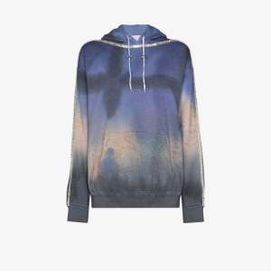 Collina Strada Womens Blue Sporty Spice Jersey Hoodie