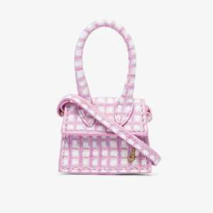 Jacquemus Womens Pink Le Petit Chiquito Leather Mini Bag