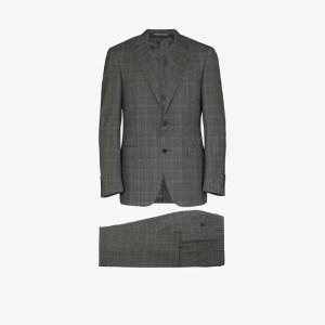 Canali Mens Grey Venezia Two-piece Suit
