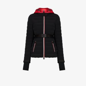 Moncler Grenoble Womens Black Bruche Ski Puffer Jacket