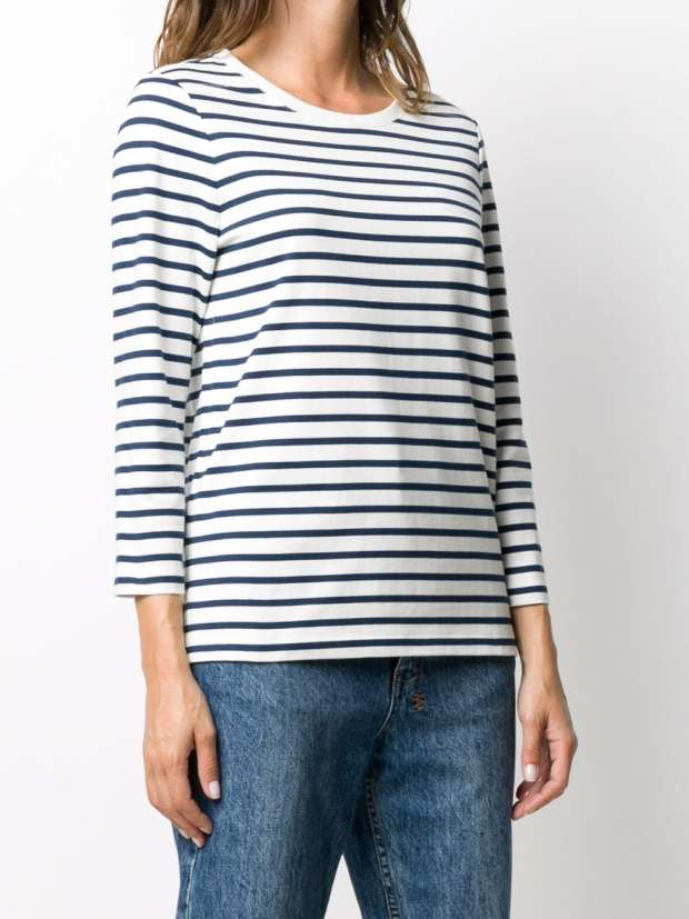 Image 3 of A.P.C. fine knit striped top