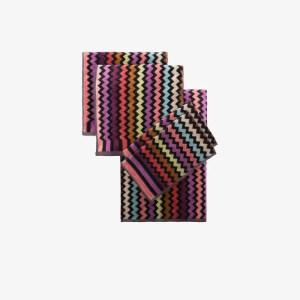Missoni Home Womens Black Missoni Warner 5 Piece Towel Set