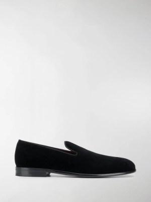 Dolce & Gabbana Leonardo velvet slippers