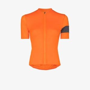 Rapha Womens Orange Pro Team Flyweight Cycling Top
