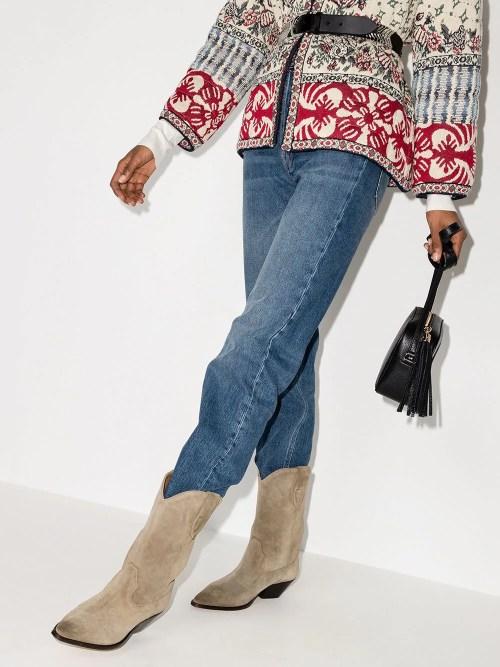 Isabel Marant Duerto 60mm cowboy boots