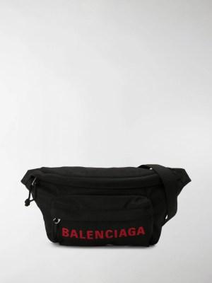 Balenciaga Wheel logo belt bag
