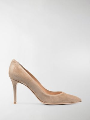 Gianvito Rossi Camoscio 85mm pumps