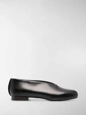 Lemaire round-toe leather slippers