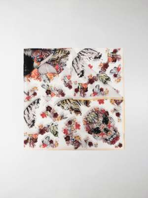 Alexander McQueen Botanical Paisley scarf