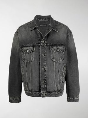 Balenciaga button-up denim jacket