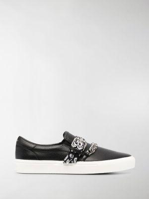 AMIRI bandana-strap chain-detail sneakers